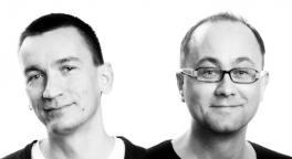 od lewej: Marcin Mroczek, Andrzej Błachut