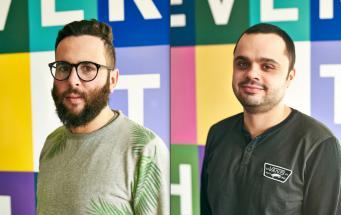od lewej: Piotr Jakubowski i Michał Konert