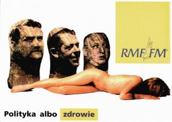 Art FM dla Biura Promocji Radia RMF FM, rok 1995
