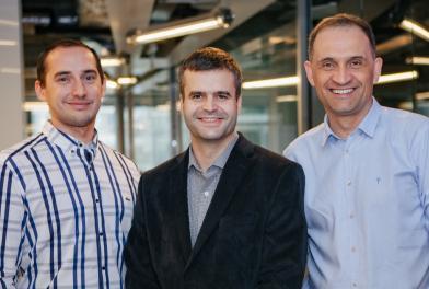 Na zdjęciu od lewej: Paweł Bochenek, Krzysztof Michałowski i Artur Gortych