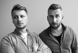 od lewej: Jędrzej Piotrowski, Tomasz Kartasiński