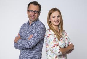 Martyna Adamska i Rafał Kałęcki