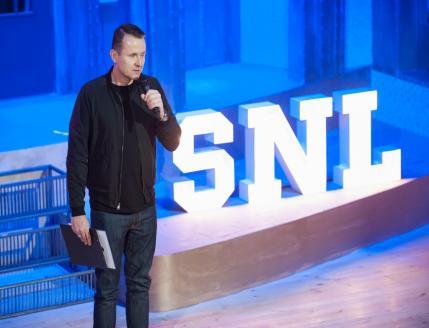Jurek Dzięgielewski, producent kreatywny SNL Polska. Fot.: mat. prasowe Showmax / Bartosz Krupa, East News