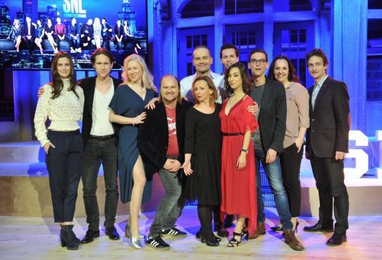 Pełna obsada polskiej edycji Saturday Night Live. Fot.: materiały prasowe Showmax / Bartosz Krupa, East News