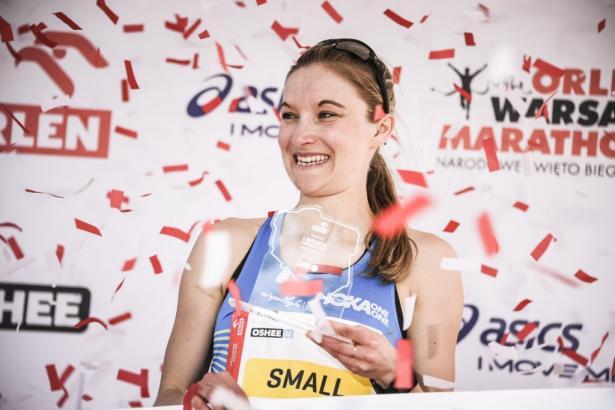 Zwyciężczyni biegu Oshee 10 km - Louise Small