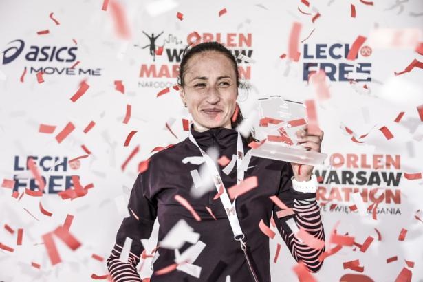 Wśród kobiet w maratonie zwyciężyła Białorusinka Nasstassia Ivanova.