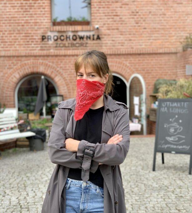 Marianna Zjawińska, właścicielka Prochowni Żoliborz i współwłaścicielka Palomy nad Wisłą:. Foto: archiwum prywatne.