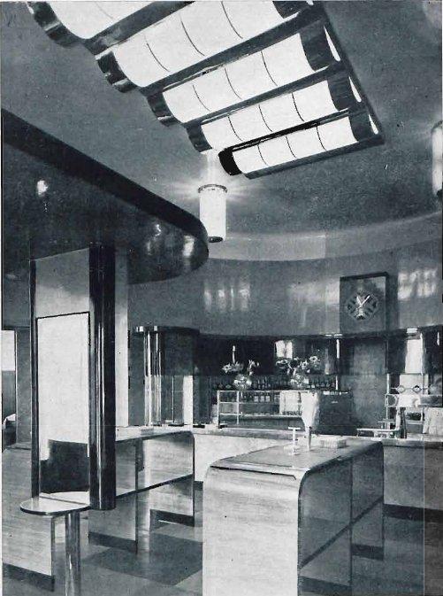 Wnętrze Restauracji Żywiec w kamienicy Lothego. Foto: archiwum Bartosza Paluszkiewicza.