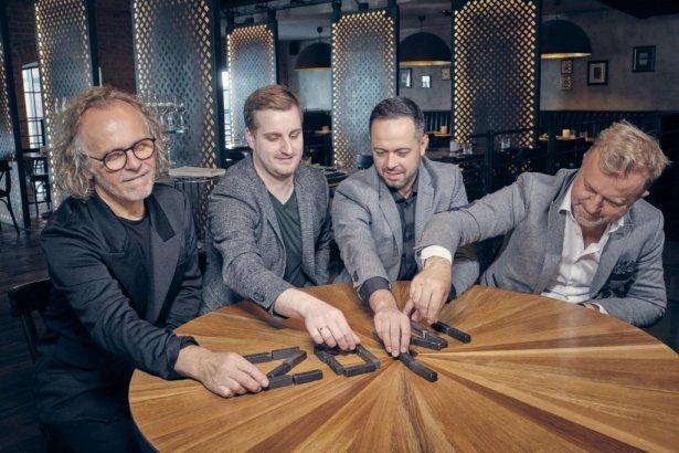 Od lewej: Mirosław Nizio, Michał Gniadek, Arkadiusz Żochowski, Andrzej Nizio. Foto: Michał Radwański.