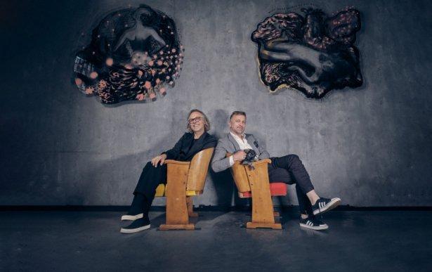 Mirosław Nizio i Andrzej Nizio. Foto: Michał Radwański.