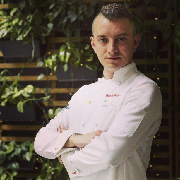 Mateusz Suliga, szef kuchni krakowskiej restauracji Unique Taste. Zdjęcie: materiały prasowe.