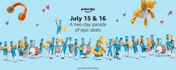 Tak promowano Amazon Prime Day w 2019 roku