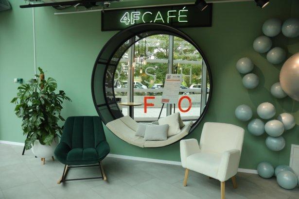 4FCAFÉ otwarta w Warszawie. Zdjęcie: materiały prasowe.