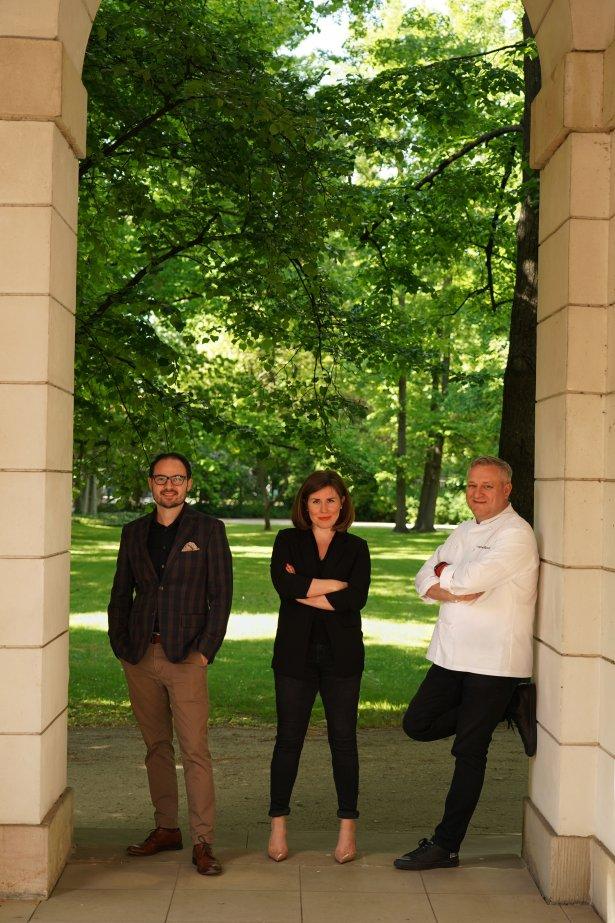 Od lewej: Adam Pawłowski, Patrycja Siwiec, Adam Chrząstowski. Foto: Krzysztof Kudelski.