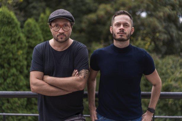 Piotr Zawałło, dyrektor kreatywny i Michał Korczak, dyrektor zarządzający Focus Media Group. Zdjęcie: Piotr Ciężkowski
