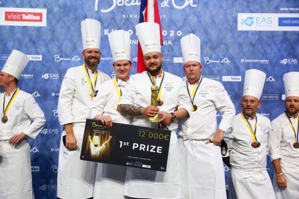 Zwycięzcy Bocuse d'Or Europe 2020. Zdjęcie: materiały prasowe.
