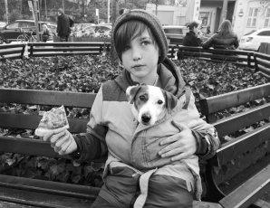 Michał Bachora - Boy, Dog, Pizza