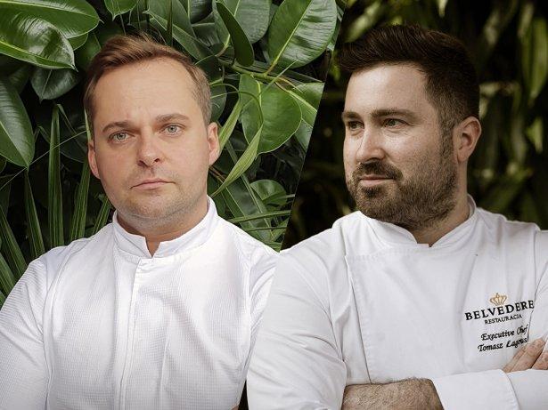 Łukasz Guziński i Tomasz Łagowski, szefowie restauracji belvedere. Zdjęcie: materiały prasowe.