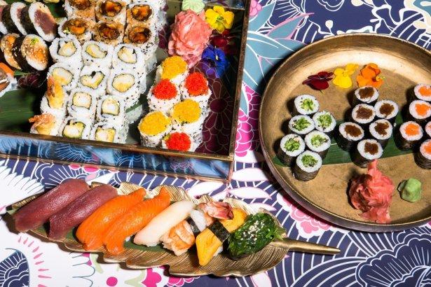 Sushi na wynos z warszawskiej restauracji Sen. Zdjęcie: materiały prasowe.