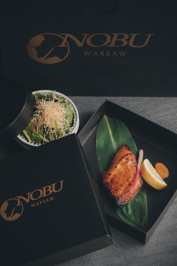 Black Cod Miso z oferty Nobu Warsaw. Zdjęcie: materiały prasowe.