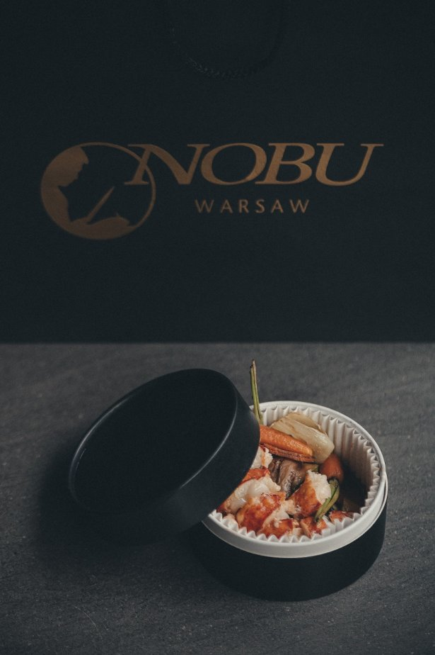 Lobster Wasabi Pepper z oferty Nobu Warsaw. Zdjęcie: materiały prasowe.