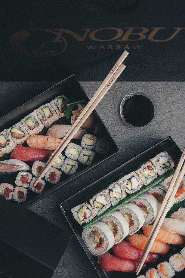Zestawy sushi z oferty Nobu Warsaw. Zdjęcie: materiały prasowe.