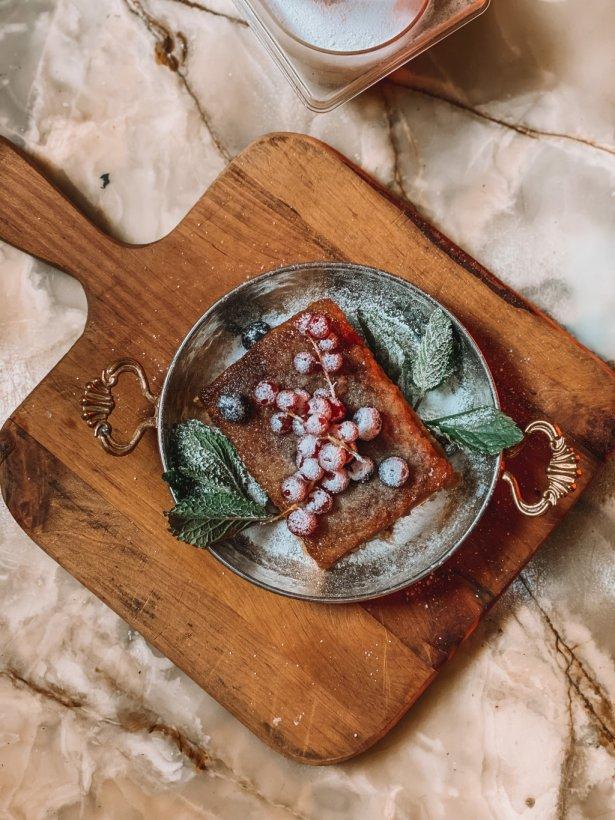 Jabłkowy przysmak z restauracji Syreni Śpiew. Zdjęcie: materiały prasowe.