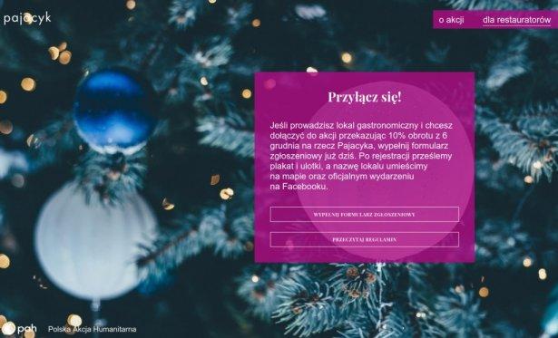 Świąteczny Stół Pajacyka. Zdjęcie: PAH