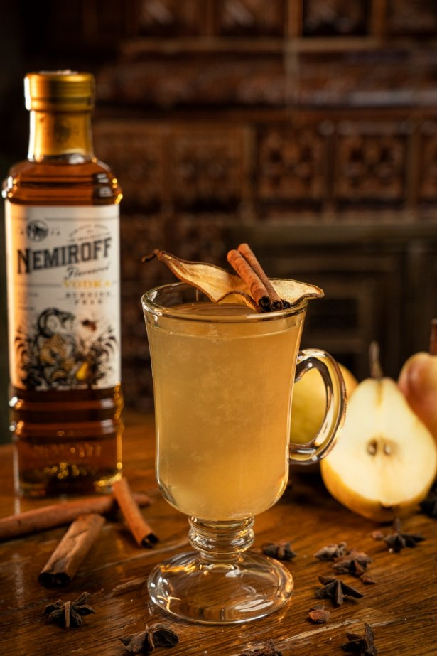 Pear Hot Toddy
