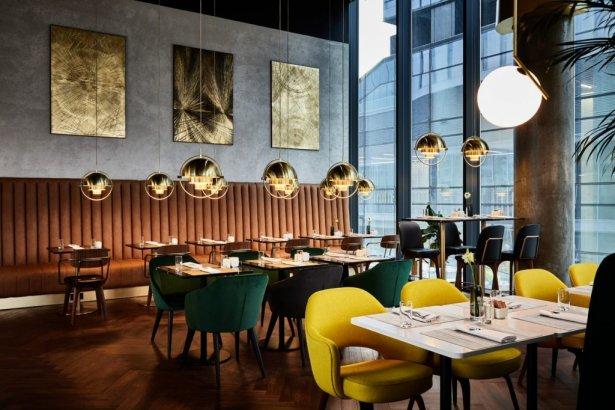 Restauracja Nova Wola w Crowne Plaza Warsaw The Hub. Zdjęcie: materiały prasowe.