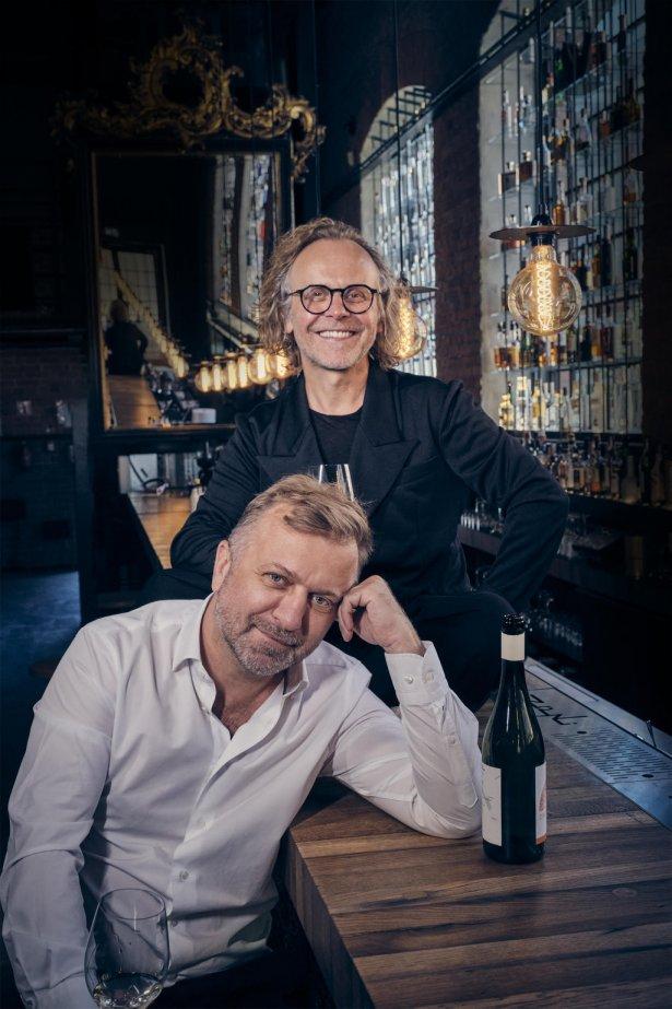 Restauratorzy Andrzej i Mirosław Nizio. Zdjęcie: Michał Radwański.