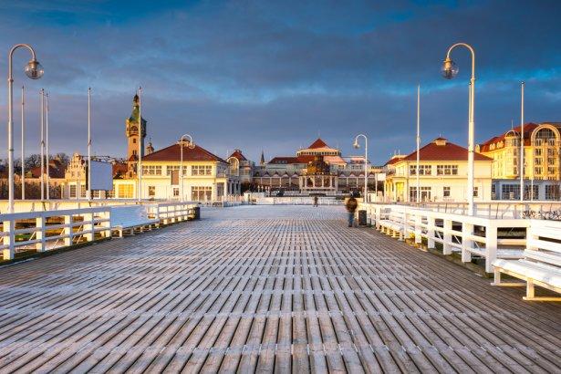 Sopot zimą Zdjęcie: Shutterstock.com.