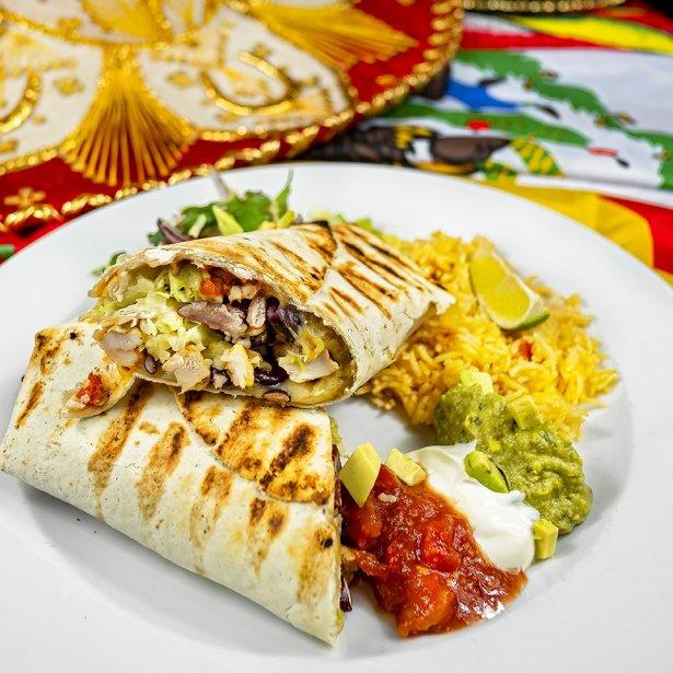 Burrito z oferty Jeff's. Zdjęcie: materiały prasowe.