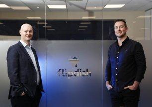 Na zdjęciu współzałożyciele Flipdish, bracia Conor i James McCarthy