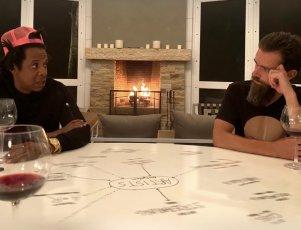 Jay-Z i Jack Dorsey. Żródło: Twitter
