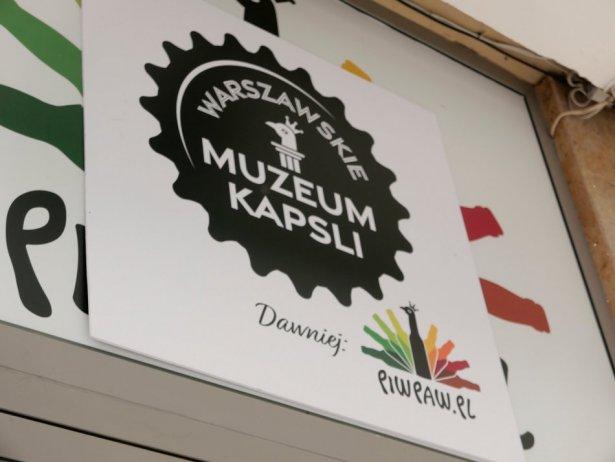 Muzeum Kapsli w barze Piw Paw. Zdjęcie: Przemysław Ziemichód