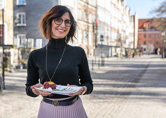 Anna Orzech, właścicielka restauracji Manna 68. Zdjęcie: materiały prasowe.