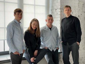 Na zdjęciu od lewej: Mateusz Szmigiero, Aneta Kabsa, Piotr Ćwikliński i Michał Krajewski