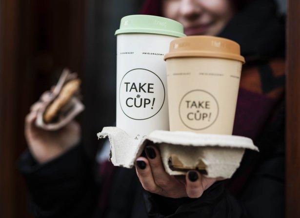 Take!Cup. Zdjęcie: materiały prasowe.