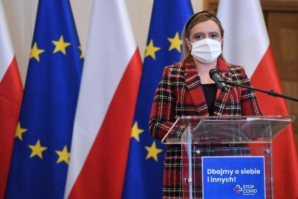 Wiceminister Olga Semeniuk. Zdjęcie: PAP MediaRoom