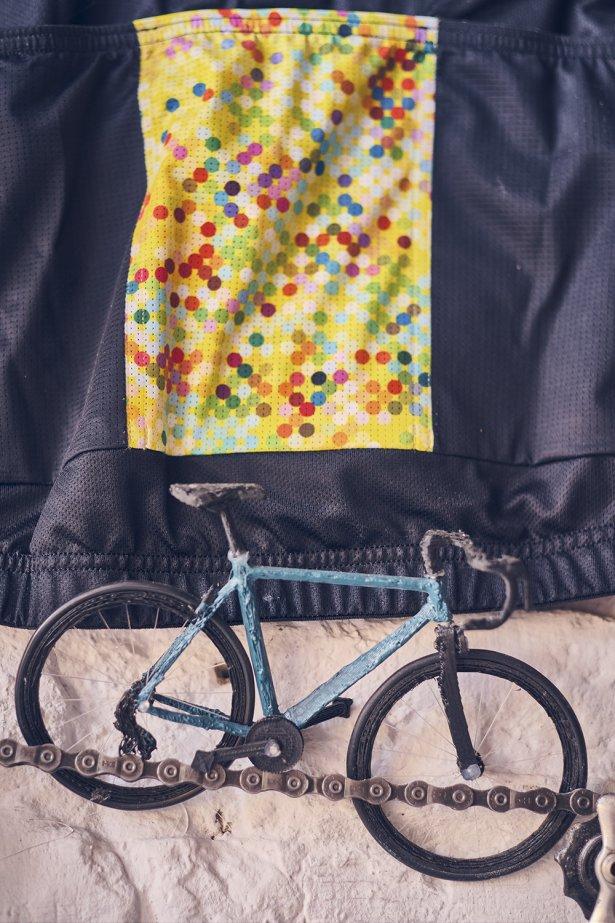 Wydrukowany rower – podarunek od jednego z kolarzy. Fot. Michał Radwański