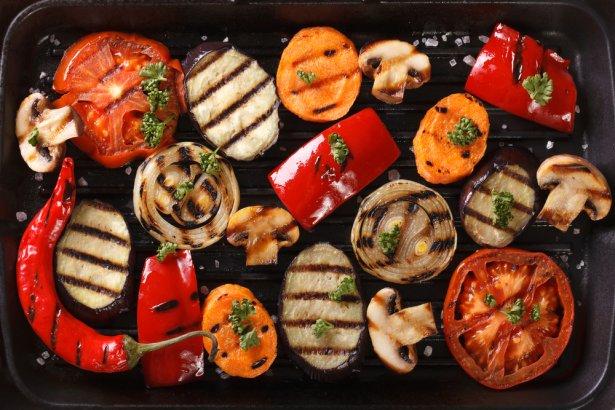 Grillowane warzywa. Zdjęcie: Shuttersctock.com