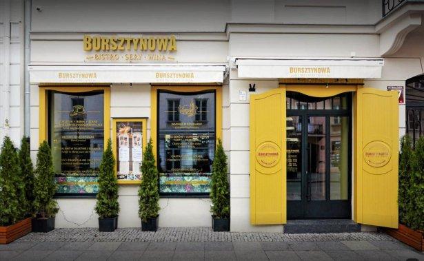 Bursztynowa Bistro w Warszawie. Zdjęcie: materiały prasowe