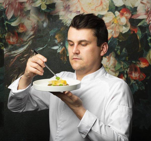 Szef kuchni Łukasz Cichy (Biała Róża), Zdjęcie: materiały prasowe
