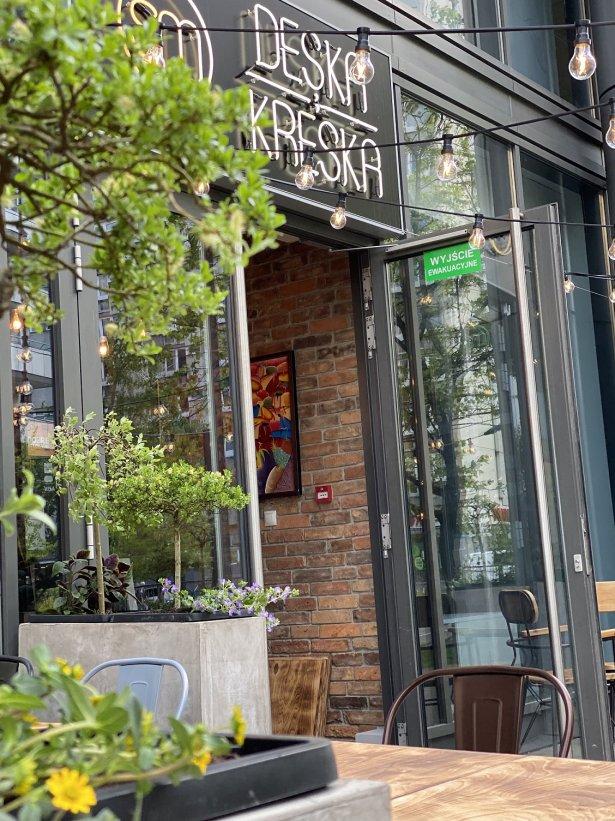 Restauracja Deska i Kreska. Zdjęcie: materiały prasowe