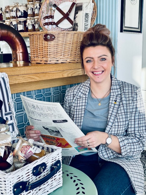 Klaudia Świerczyńska, manager restauracji Morski Zając w Kuźnicy. Zdjęcie: materiały prasowe