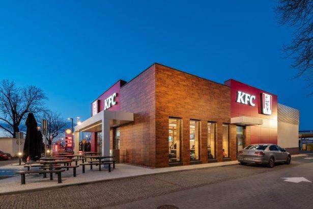 KFC przy ulicy Rzgowskiej 134 w Łodzi. Zdjęcie: materiały prasowe