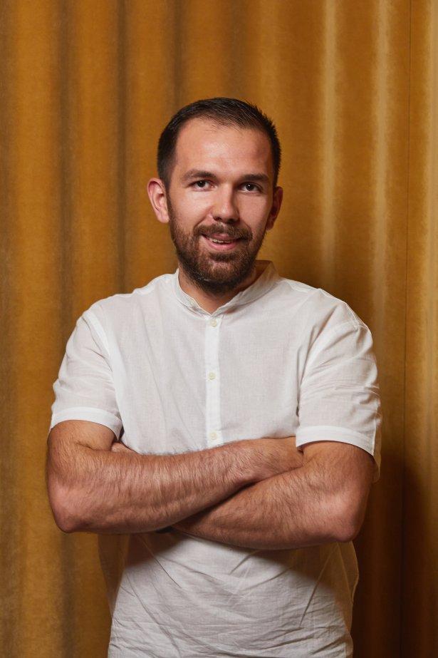 Szef kuchni Tomasz Janiczek. Zdjęcie: Maciej Niemojewski