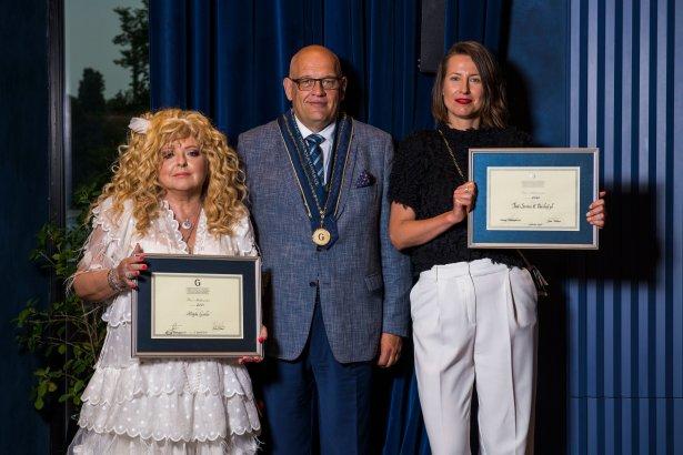 Magda Gessler, Maciej Dobrzyniecki i Agata Godlewska. Zdjęcie: Daniel Miśko