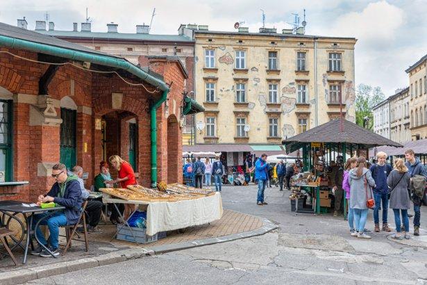 Plac Nowy w Krakowie. Zdjęcie: Shutterstock.com